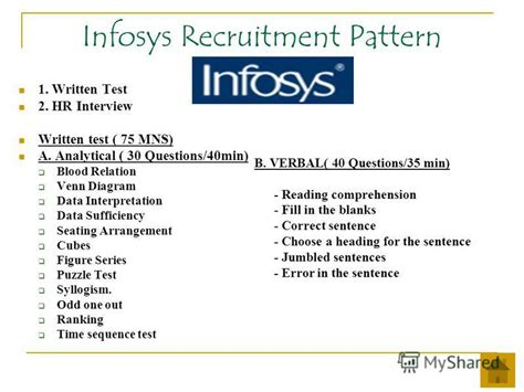 test pattern of infosys diagram analytical questions images how to guide and