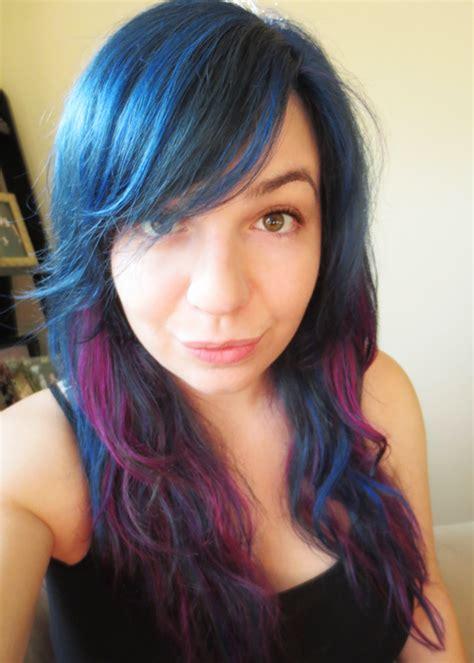 splat bleach results blue splat hair dye without bleach www imgkid com the