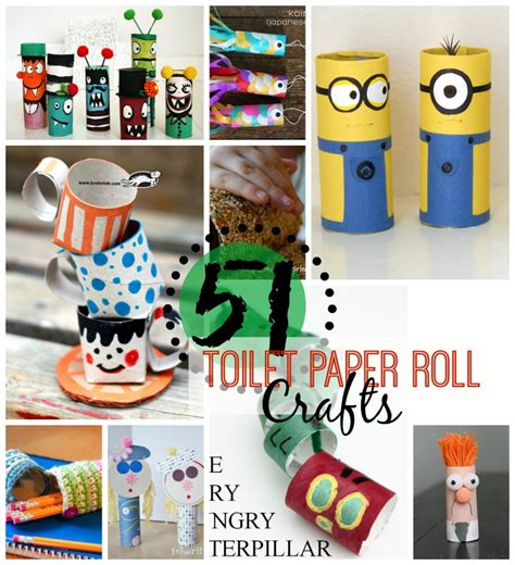 Recycled Toilet Paper Roll Crafts - 51 toilet paper roll crafts toilet paper roll crafts