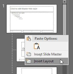 add new layout in ppt slide layouts add new slide layouts in powerpoint