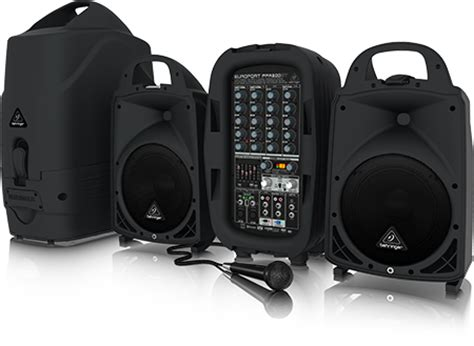 Multi Function Wireless Portable Pa Sound System ppa500bt compact pa systems portable pa systems