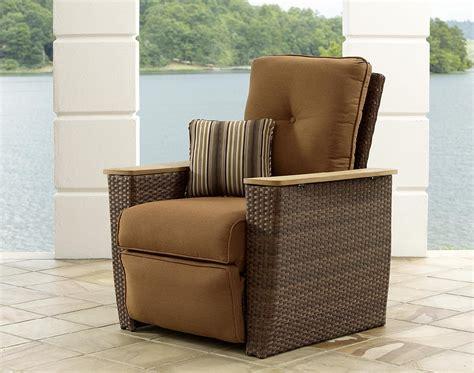 la z boy patio recliner la z boy outdoor hargrove recliner