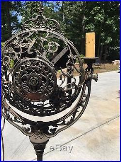 vintage stand up fan antique stand up electric fan 1920 luminaire victor