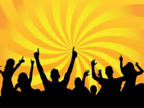 party crowd vector art amp graphics freevector com