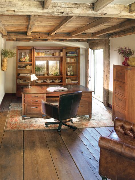 cool  classic rustic home office designs interior vogue