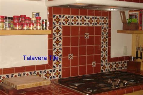 talavera tile kitchen countertop mexican style tile