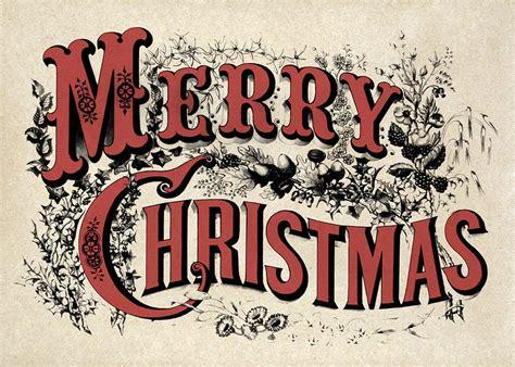 vintage merry christmas digital art  god  country prints