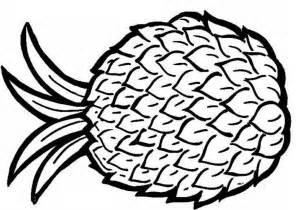 pineapple coloring page pineapple coloring pages coloring