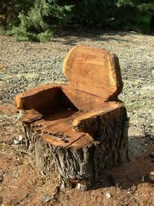 tree stump chair tree stump chair diy home decorating