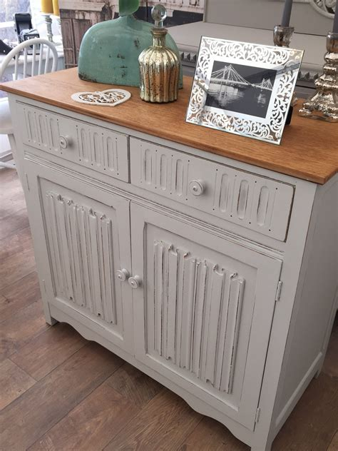 shabby chic oak cabinet eclectivo london furniture with soul