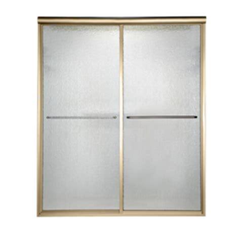 American Standard Shower Door Shop American Standard Gold Framed Bypass Shower Door At Lowes