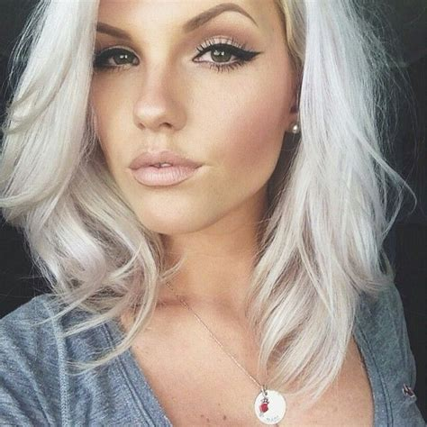 ideas color hair white latina icy white hair color in 2016 amazing photo