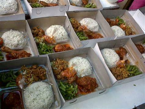 mengenal kemasan nasi kotak  laris  masyarakat