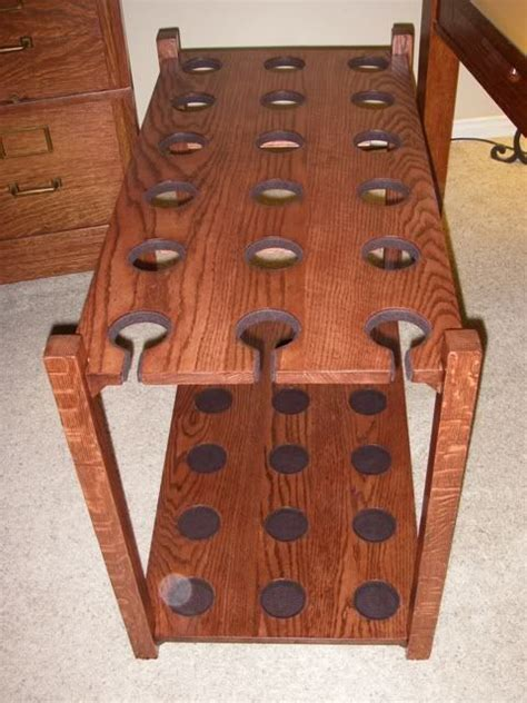 wooden fishing rod rack design woodworking projects plans