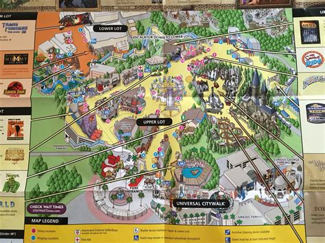 universal studios map studio map 2016 universal studios harry potter favorite places
