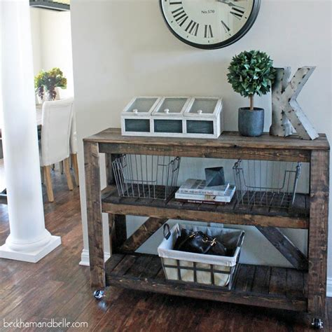 Beautiful Entryway Tables Diy Furniture For A Beautiful Foyer
