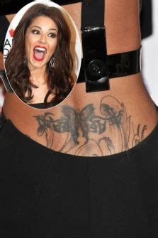 kerry katona tattoo on shoulder xfactor tattoo faces ban