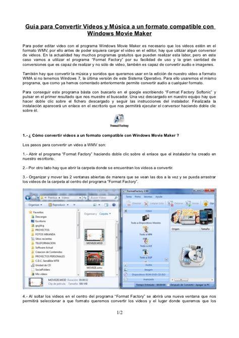 format factory para que es guia sobre el programa de conversion format factory