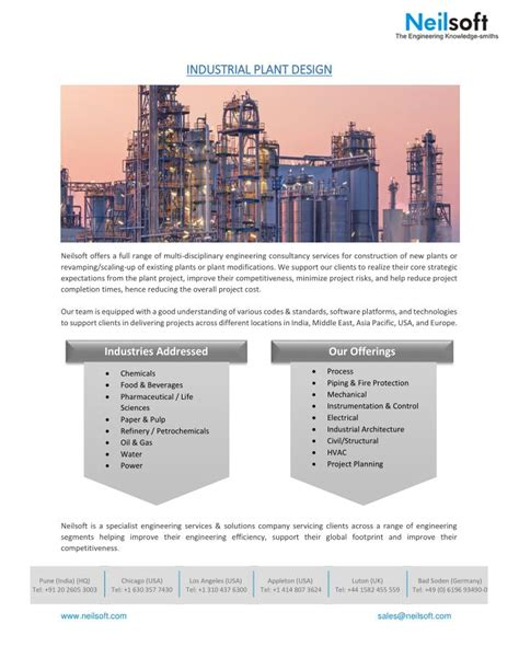 plant layout powerpoint presentation ppt industrial plant design powerpoint presentation id