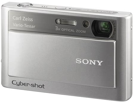 Sony Cyber T100 Lots Of Tech Tucked Into A Tiny Casing by Sony Models Digicam Lines The Register