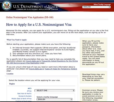appointment letter us visa manila asian in united state of america visit visa ds 160
