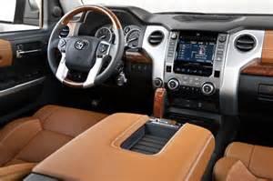 Toyota 1794 Interior by 2017 Toyota Tundra 1794 Edition 2018 2019 New Best Trucks