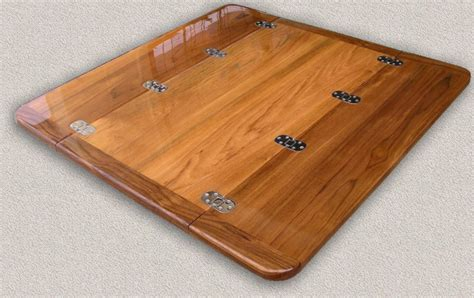 folding table top teak table tops custom teak marine woodwork
