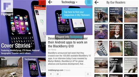 Flip Bb Z10 Bisa Diputar aplikasi flipboard bisa dinikmati pengguna blackberry z10
