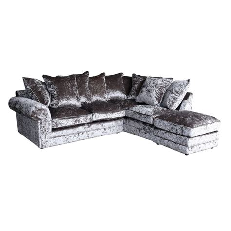 silver corner sofa 25 best ideas about silver velvet sofa on pinterest