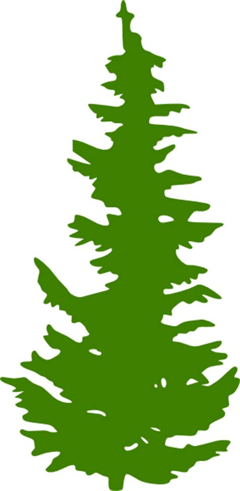 Evergreen Tree Clip by Evergreen Clip Clipart Best