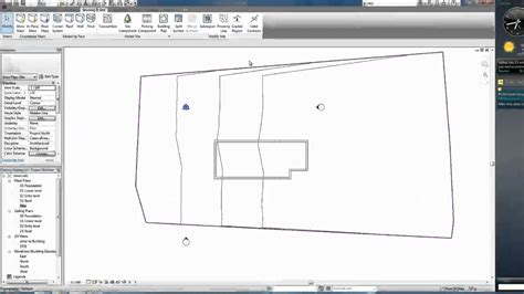 revit tutorial topography autodesk revit tutorials 03 adding topographic surface