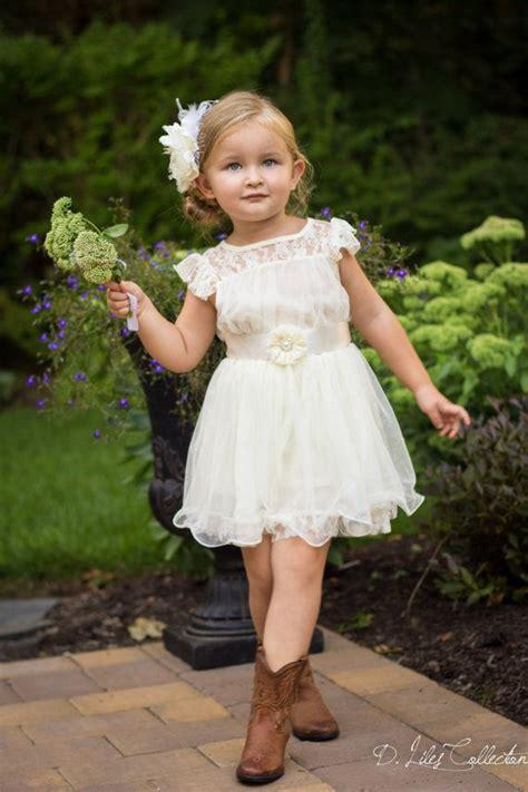 lace short toddler flower girl dressWedWebTalks   WedWebTalks