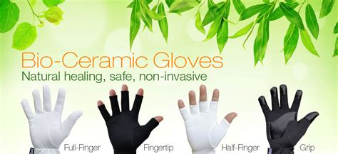 carpal tunnel ceramics far infrared therapy gloves arthritis raynaud s