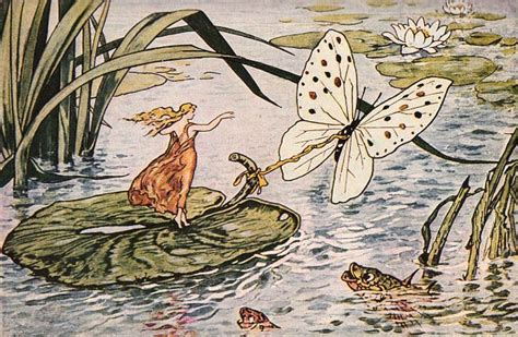 Mouse Pad Ponds Thn 2008 beautiful thumbelina with butterfly the graphics