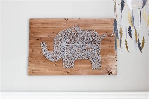 diy nursery string tutorial erin spain
