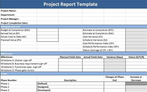 project update template word 17 best images about management templates on