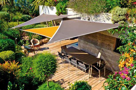 Sail Canopy For Patio L Ombre Sur La Terrasse Pergola Parasol Et Toiles