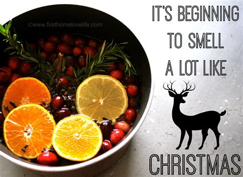 which christmas tree smells like oranges make your home smell like home