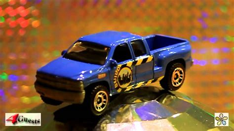 Matchbox 1999 Chevy Silverado Pickup Truck 1 76 Scale