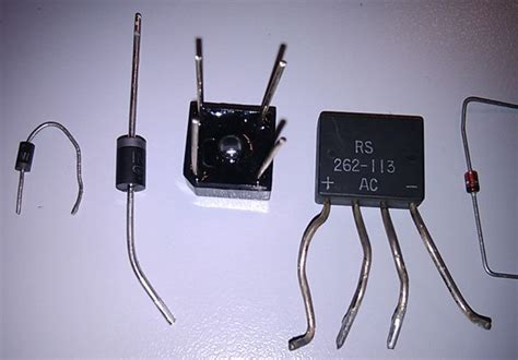 power diode types power supplies