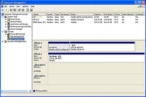 format hard disk xp how to install partition format or reformat a wd