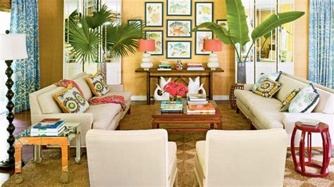 caribbean themed living room our 60 prettiest island rooms coastal living