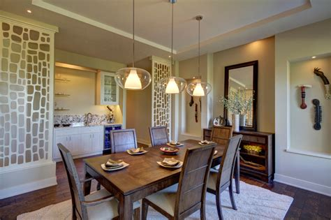 a modern family home in omaha transitional dining room