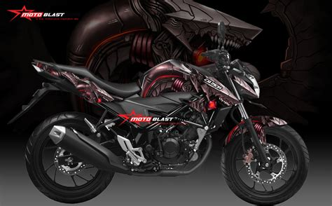 Striping Variasi Cb150r New 4 modifikasi motorsport terbaru honda new cb150r striping motoblast