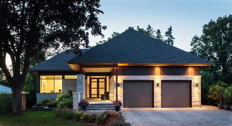 Bungalow Floor Plans Canada custom home courtyard bungalow christopher simmonds