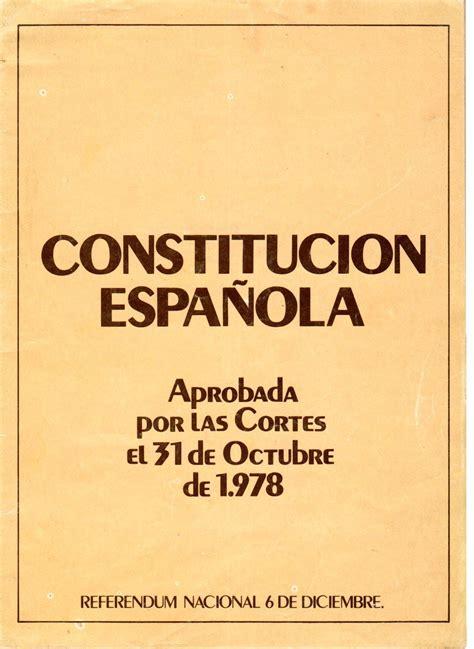 constitucin espaola constituci 243 n elvira lindo p 225 gina web oficial