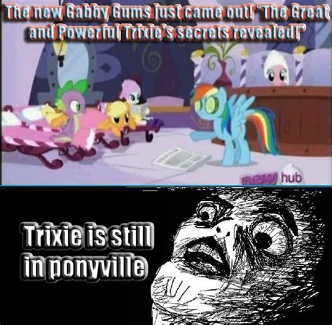 Trixie Meme - my little pony trixie sad memes
