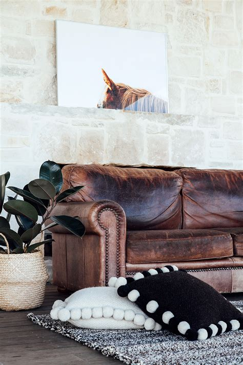 chambers leather sofa picks rubber plant inspiration