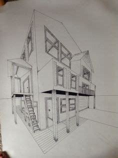 3d model and draws of house in athens irene kastriti 1000 images about drafting on pinterest perspective