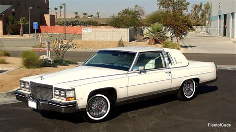 1985 cadillac coupe find used 1985 fleetwood brougham coupe 43k